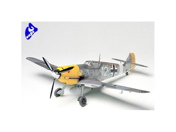 tamiya maquette avion 61063 Messerschmitt BF109E-4/7 Trop 1/48