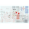 Decalques Berna decals BD72-72 MIRAGE 2000-5 OF THE WORLD 1/72