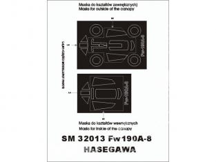 Montex Mini Mask SM32013 Fw 190A-8 Hasegawa 1/32