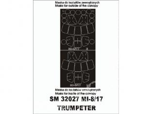 Montex Mini Mask SM32027 Mi-8/17 Trumpeter 1/32