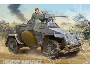 HOBBY BOSS maquette militaire 83813 German Le.Pz.Sp.Wg Sd.Kfz.221 Leichter Panzerspahwagen-Early 1/35