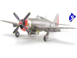 tamiya maquette avion 61086 P-47D Thunderbolt Razorback 1/48