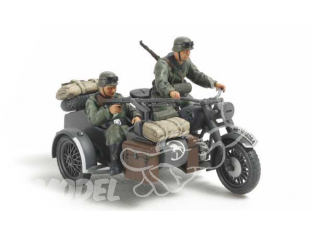 TAMIYA maquette militaire 32578 Sidecar Allemand WWII 1/48