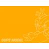 POT ACRYLIQUE LC04  JAUNE FONCE MAT de LIFECOLOR