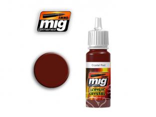 MIG peinture authentique 093 Rouge cristal