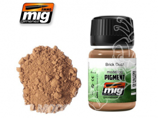 MIG pigments 3015 Poussiere de brique