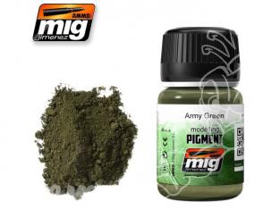 MIG pigments 3019 Vert armee
