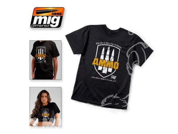 MIG T-Shirt 8000XL T-shirt AMMO taille XL