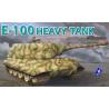 dragon maquette militaire 7256 E-100 1/72
