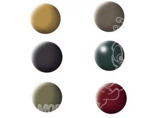 lot peinture revell 32341 couleurs militaires 6 pots