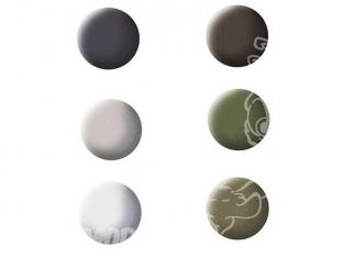 lot peinture revell 32343 couleurs avions 6 pots