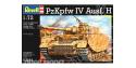 REVELL maquette militaire 03184 Panzerkampfwagen IV Ausf.H 1/72