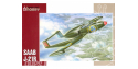 Special Hobby maquette avion 72207 SAAB J 21R 1/72