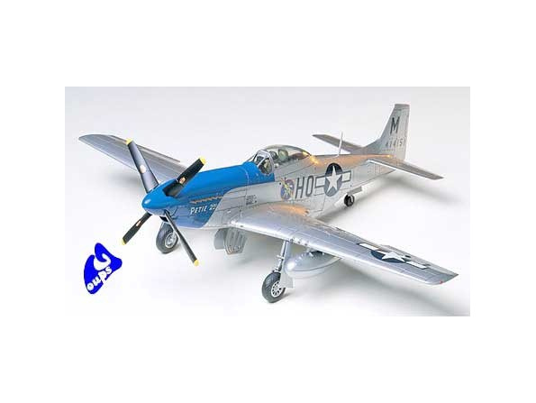 tamiya maquette avion 61040 North American P-51D Mustang - 8th A