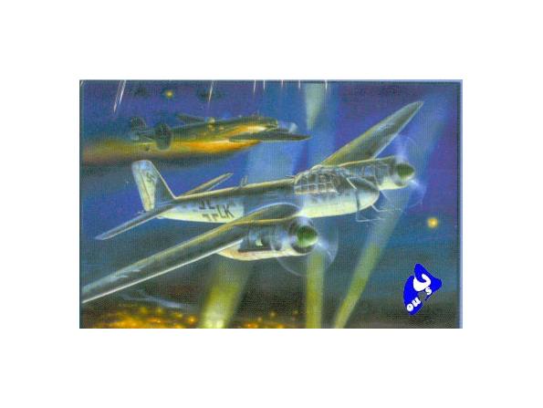 Zvezda maquette avion 7269 Junkers JU88G6 1/72