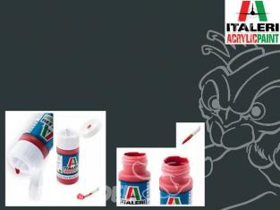 peinture maquette Italeri 4681 Gris acier mat