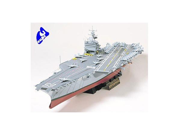 Tamiya maquette bateau 78007 U.S.S Enterprise 1/350