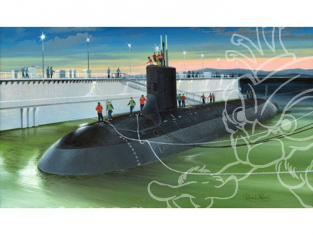 HOBBY BOSS maquette bateau 83513 USS Virginia SSN-774 1/350