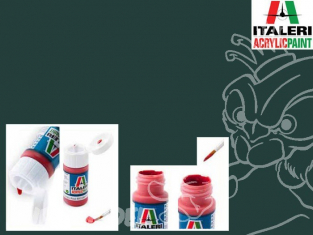 peinture maquette Italeri 4795 Pz. Schwarzgrau RAL7021 Mat