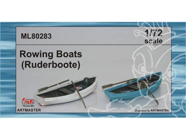 CMK bateau ML80283 BARQUES 1/72