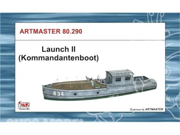 CMK bateau ML80290 BATEAU DE CAPITAINERIE 1/72