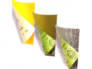 ARTESANIA LATINA finition 27635 4 papier abrasif gros grain