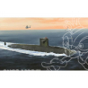 HOBBY BOSS maquette sous marin 83519 LE TRIOMPHANT SSBN 1/350