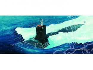 TRUMPETER maquette bateau 05904 BATEAU USS SSN-21 SEA WOLF 1/144