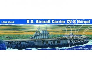 Trumpeter maquette bateau 05601 PORTE-AVIONS USS CV-8 HORNET 1/350