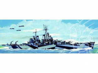 Trumpeter maquette bateau 05725 CROISEUR LOURD USS CA-68 BALTIMORE 1/700