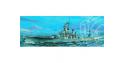 Trumpeter maquette bateau 05701 CUIRASSE U.S. BB-61 IOWA 1/700