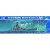 Trumpeter maquette bateau 05706 CUIRASSE U.S. BB-64 WISCONSIN 1/700