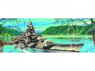 Trumpeter maquette bateau 05712 CUIRASSE ALLEMAND TIRPITZ 1/700