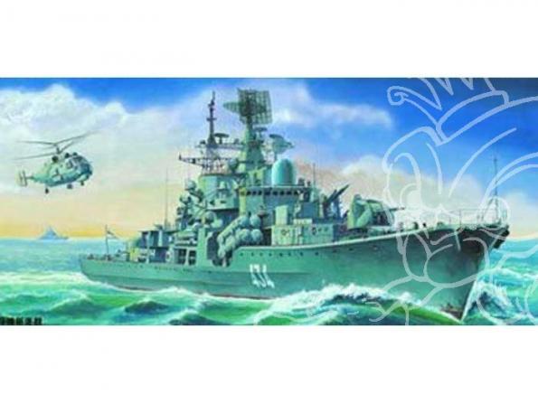 Trumpeter maquette bateau 04514 DESTROYER SOVIETIQUE CLASSE SOVREMENNY 956 1/350