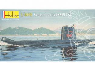 Heller maquette sous marin 81069 Daphne 1/400