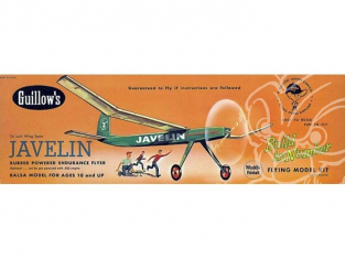 Maquette Guillow&39s avion bois 603 JAVELIN 150