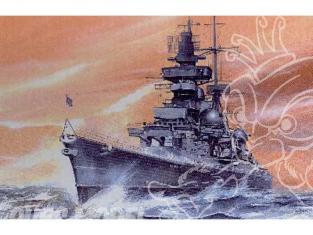 Samek Models maquette bateau s700018 CROISEUR LOURD ALLEMAND PRINZ EUGEN 1945 1/700