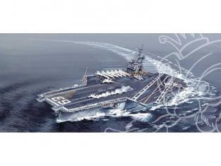 italeri maquette bateau 5522 USS Kitty Hawk CV-63 1/720