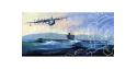 HOBBY BOSS maquette sous marin 83515 PLA Navy Type 033 Romeo Class et SH-5 1/350