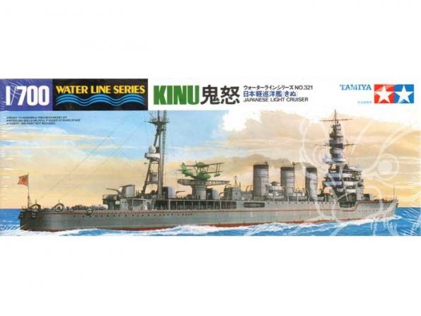 TAMIYA maquette bateau 31321 CROISEUR Leger KiINU classe Nagara 1/700