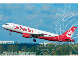 Revell maquette avion 64861 Model set Airbus A320 AirBerlin 1/144