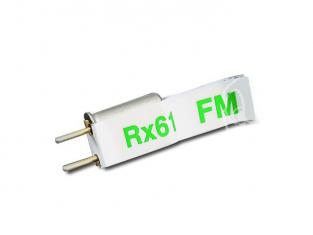 quartz (canal 59) frequence FM 40.12Hz recepteur