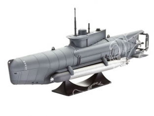 Revell maquette sous-marin 65125 Model Set German Submarine Type XXVIIB Seehund 1/72