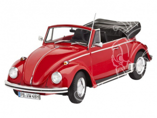 REVELL maquette voiture 67078 Model Set VW Beetle coccinelle 1500 cabriolet 1970 1/24
