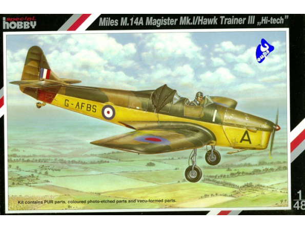 Special Hobby maquette avion 48037 Miles M.14A Magister 1/48