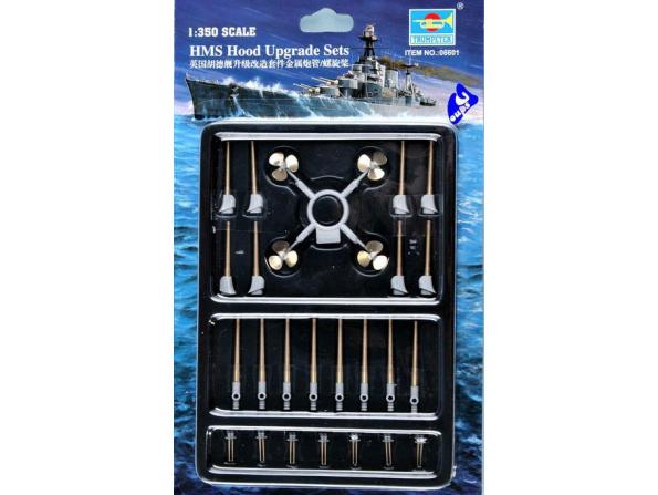 trumpeter maquette bateau 06601 set ameliration HMS HOOD 1/350