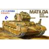 Fujimi maquette militaire 76068 Matilda 1/76