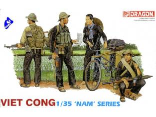 dragon maquette militaire 3304 Viet Cong 1/35