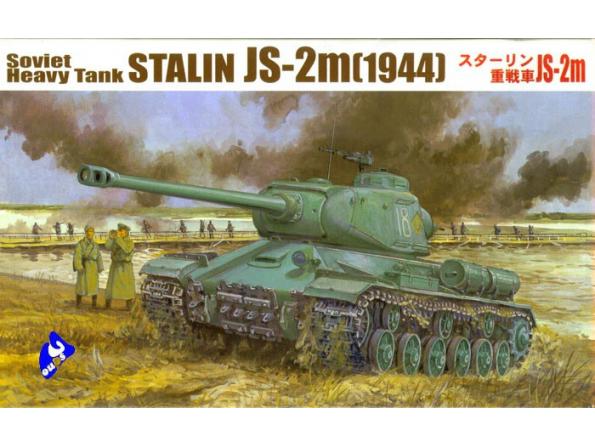 Fujimi maquette militaire 76071 Stalin JS-2m 1/76