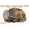 dragon maquette militaire 3315 M274 Mule avec canon de 106 1/35